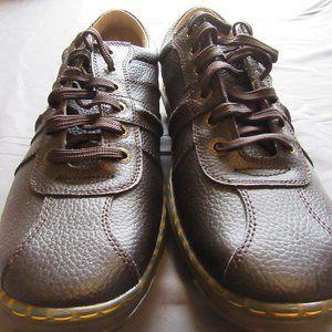 Dr Martens Pembridge Brown Leather Oxford Shoes 12